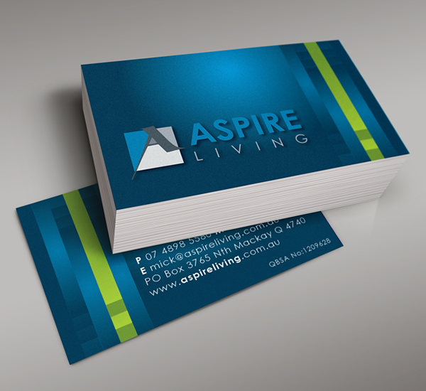 Business cards hipfish creative agency mackay design branding graphic design logosbusiness cards printing reheart Image collections